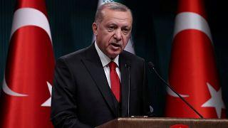 """إردوغان: بولتون ارتكب خطأ فادحاً وقتال الوحدات الكردية لداعش """"كذبة كبيرة"""""""