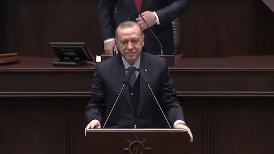Erdogan, indignado con las exigencias de EEUU