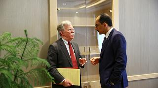 John Bolton speaks to Turkish counterpart Ibrahim Kalin