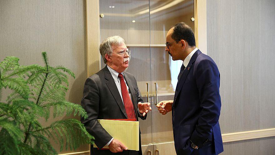 John Bolton speaks to Turkish counterpart Ibrahim Kalin