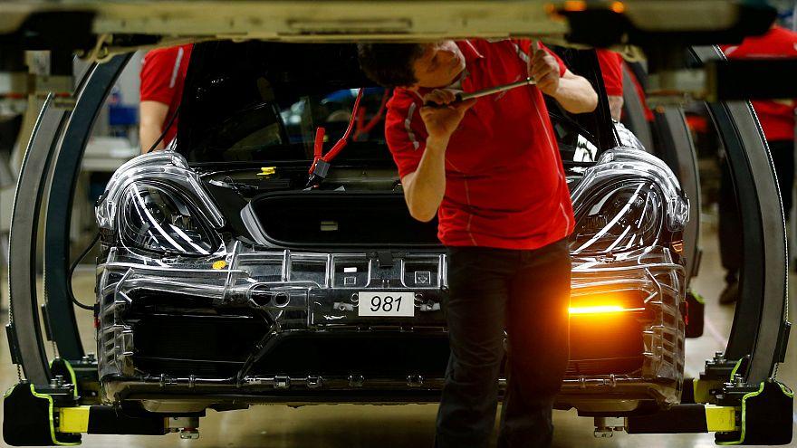 Nueva caída de la producción alemana