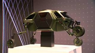 Yürüyen ve tırmanabilen otomobil-robot Elevate Las Vegas Elektronik Fuarı CES'in gözdesi