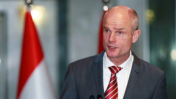 استف بلوک، وزیر خارجه هلند در جریان سفر به عراق