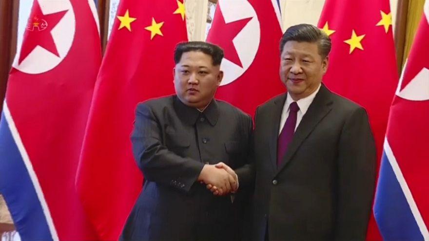 Kim Jong-un busca el respaldo de China ante EEUU