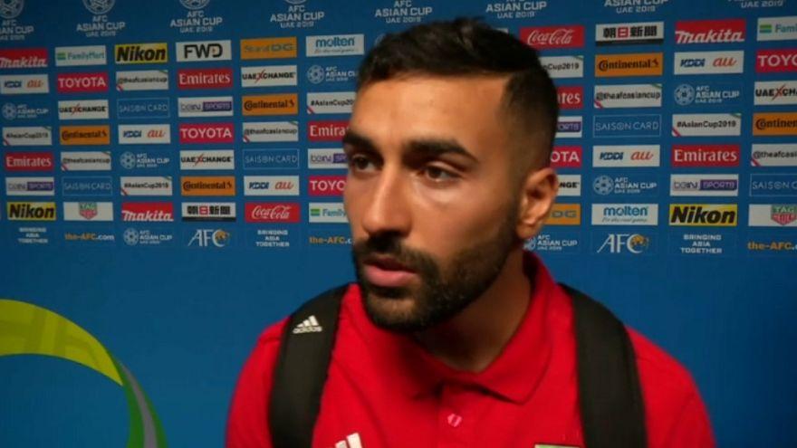 Iranian midfielder Saman Ghoddos