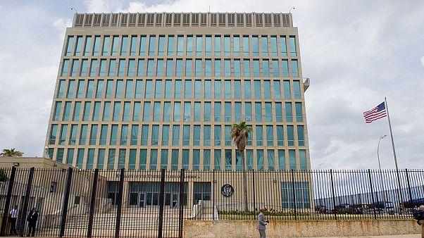 US Embassy in Havana, Cuba