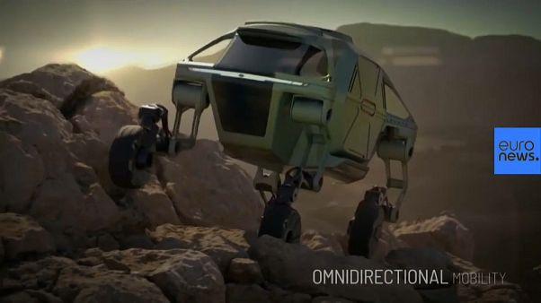 Hyundai presenta un nuevo modelo de coche que camina