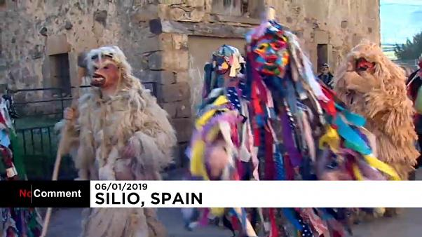Good over evil as Europe's first carnival of the year is celebrated in northern Spain