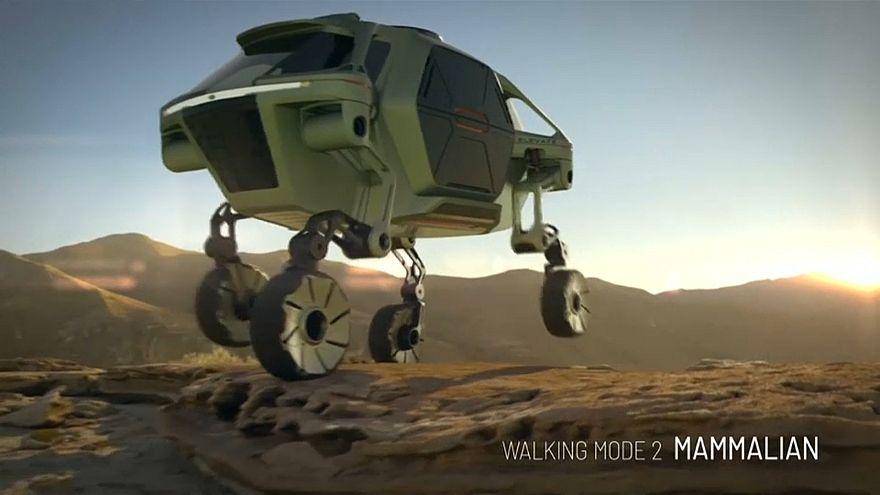Hyundai ha presentato una macchina in grado di camminare