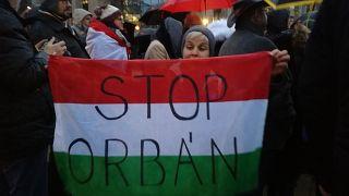 Sargentini is beszédet mondott a brüsszeli, Orbán-ellenes tüntetésen