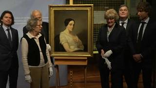 Nazi-looted painting returned to heirs of French resistance fighter