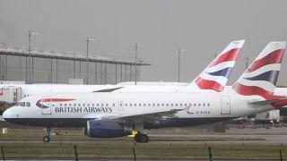 Londra Heathrow'da görülen drone sebebiyle uçuşlar iptal edildi