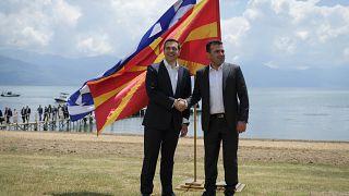Με χαιρετισμό Τσίπρα εκδήλωση για «Το στοίχημα της Συμφωνίας των Πρεσπών»