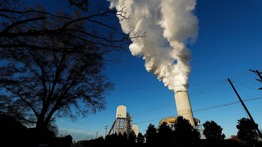 A power plant in North Carolina