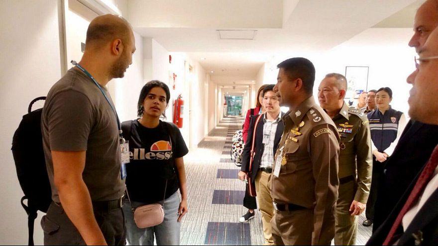 رهف محمد القنون، پناهنده سعودی در تایلند