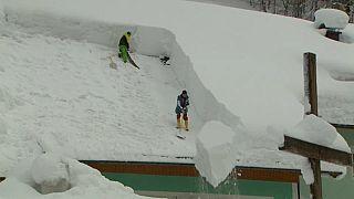 Autriche : une centaine de personnes évacuées à cause de la neige