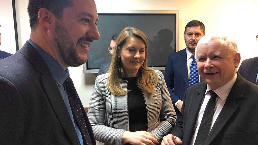 Salvini a Varsavia per un'alleanza sovranista