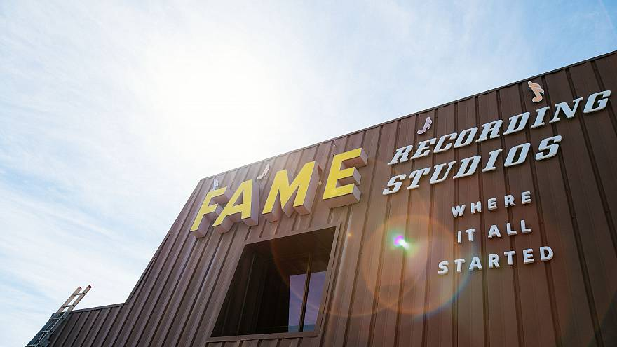 Behind the scenes at music legend Rick Hall's FAME Studios