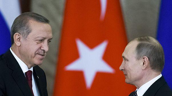 Cumhurbaşkanı Erdoğan Rusya lideri Putin