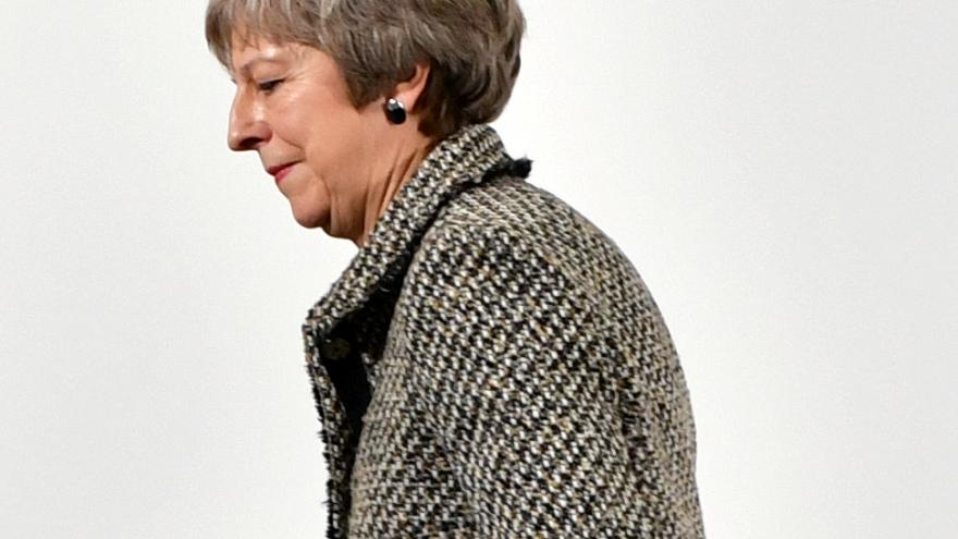 May suffers fresh defeat over Brexit plans