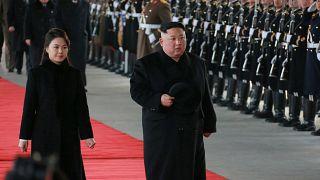 Kim Jong Un a quitté Pékin à bord de son train blindé