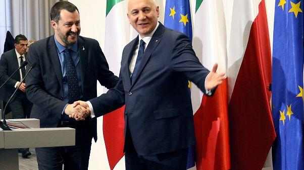 Salvini: İtalya ve Polonya Avrupa Baharı'na öncülük yapacak
