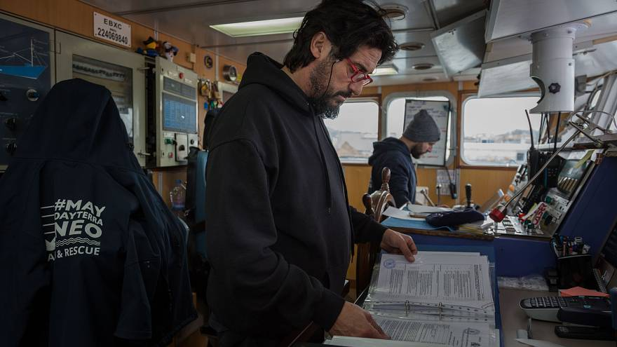 """Cuenta atrás del barco de rescate Aita Mari: """"No saber que va a ocurrir, va a ser nuestra dinámica"""""""