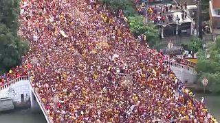 Prozession des schwarzen Nazareners in Manila