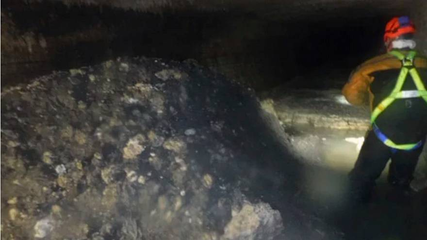'Monster fatberg', bigger than the Tower of Pisa, discovered in Devon