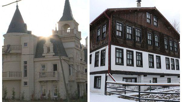 Tepkilere rağmen sahipleri 'şato evler'i savunuyor: Mudurnu'nun tarihi dokusuna zararı yok
