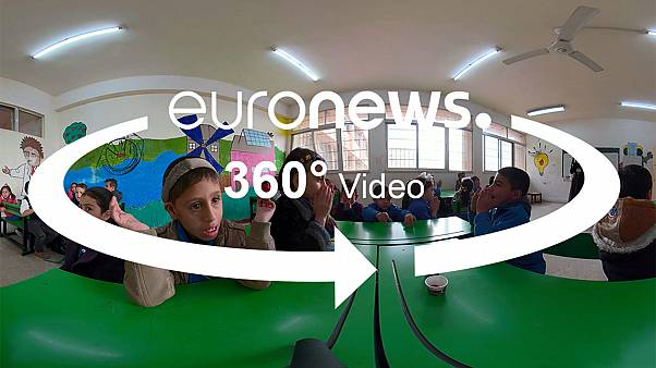 360° tour inside a Jordanian inclusive school