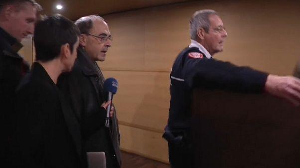 La fiscalía no pide pena alguna para el arzobispo de Lyón