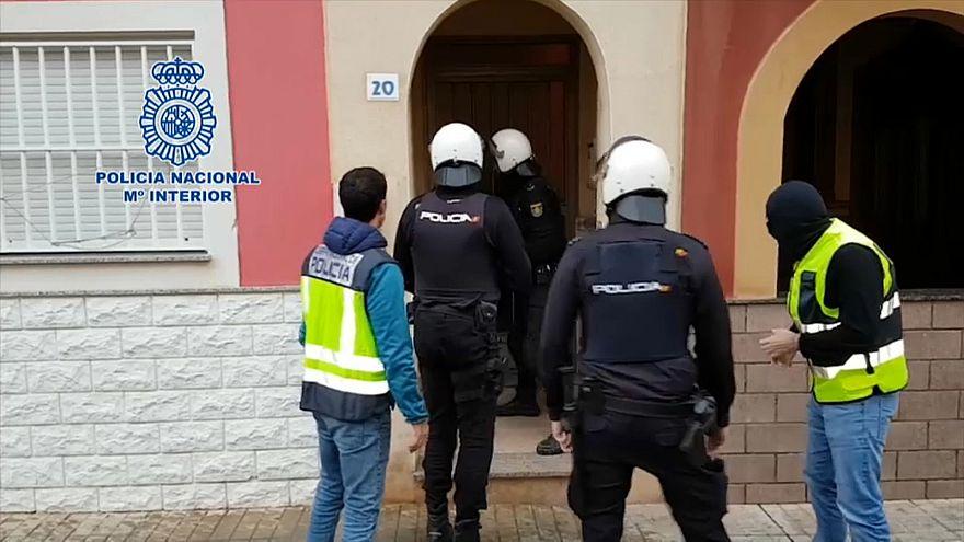 Golpe policial al tráfico de inmigrantes en el sur de España