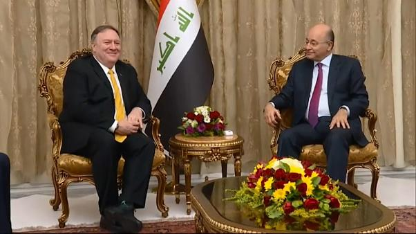 Visita a sorpresa di Mike Pompeo in Iraq