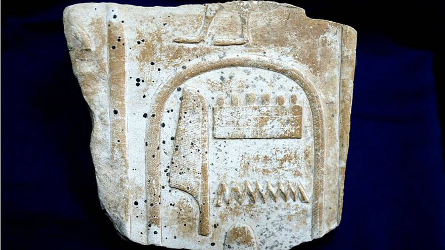 'Stolen' artefact found at London auction house is returned to Egypt