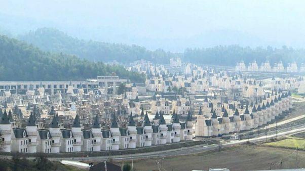 ترکیه؛ ویلاهای لوکسی که در اثر رکود اقتصادی خالی ماندهاند