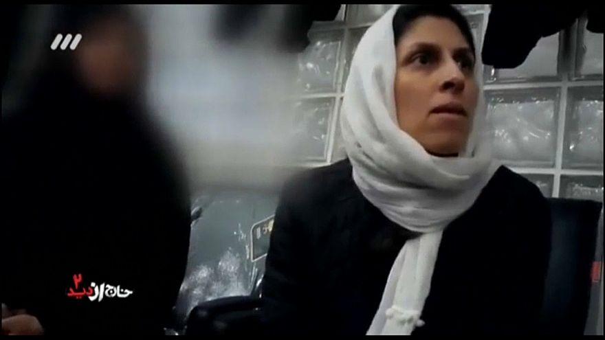 ویدئویی از لحظه دستگیری نازنین زاغری منتشر شد