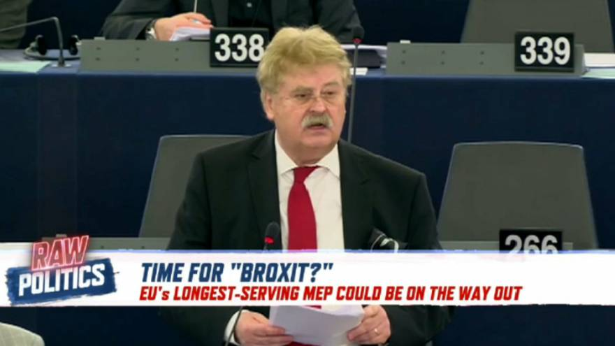 Longest-serving MEP, Elmar Brok, could soon be pushed out | Raw Politics