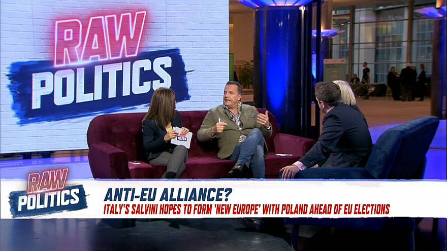 Raw Politics debates possible anti-EU pact between Italy and Poland