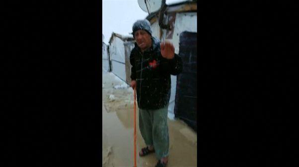 لبنان: اللاجئون السوريون بمخيم عرسال في عين العاصفة نورما