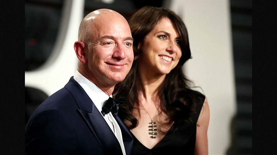 لكل شيء إذا ما تم نقصان.. بعد 25 سنة جيف بيزوس أغنى رجل في العالم ينفصل عن زوجته