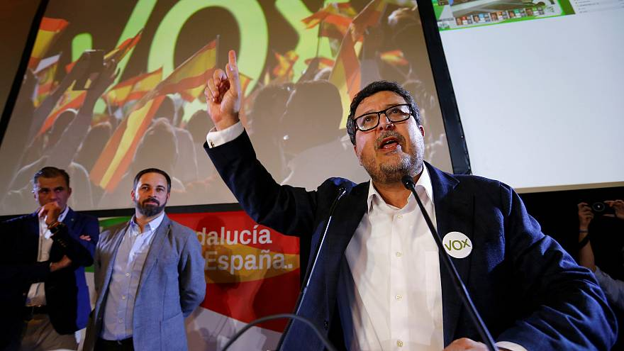 Spanish conservatives end socialist rule in Andalucia with help of far-right Vox