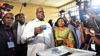 KDC'de rakibine destek açıkladıktan sonra aday olan Tshisekedi seçimi kazandı