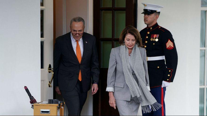 نانسی پلوسی، رئیس کنگره و چاک شومر، رئیس دموکراتهای سنای آمریکا