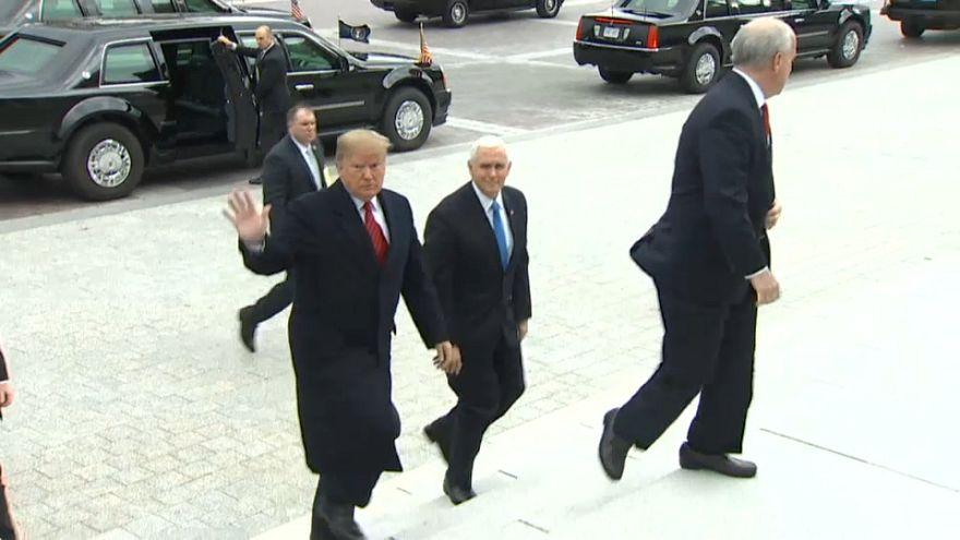 Portazo de Trump a los demócratas en una reunión sobre el muro