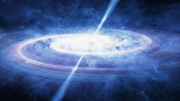 600 trilyon Güneş parlaklığında evrenin en eski kuasarlarından biri keşfedildi