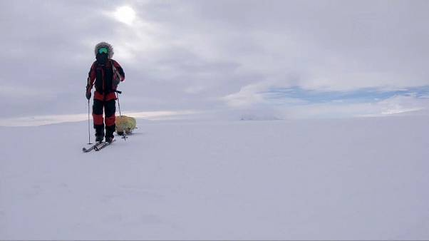 Erfolgreiches Abenteuer: US-Amerikaner durchquert Antarktis zu Fuß