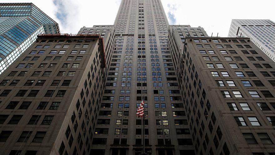 Πωλητήριο στο κτίριο Chrysler της Νέας Υόρκης