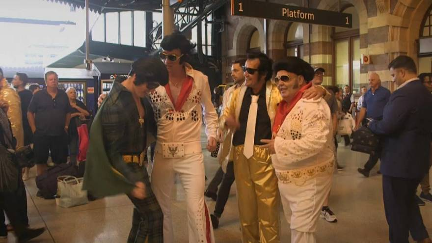 Elvis in the outback: Aussies honour The King