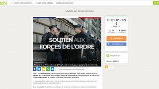 Crowdfunding wars: As police page reaches €1 million, gilets jaunes set up new campaign